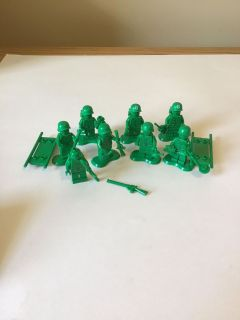 LEGO toy story green army men soldiers minifigures
