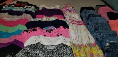 Complete wardrobe for a young lady sz 5, 6x/7