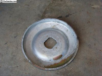 Front pulley half