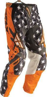 Buy Fly Racing Kinetic Pants, Orange/Gray, Size: 24, Size Segment: Youth 364-23724 motorcycle in Loudon, Tennessee, US, for US $77.00