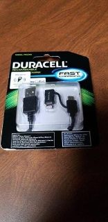 Duracell Fast Charging Car Charger - NIP