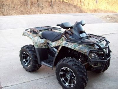 2009 Can Am Outlander XT 800R 4x4