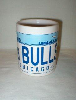 Chicago Da Bulls Coffee Mug Cup - Illinois Land of Lincoln - 1991