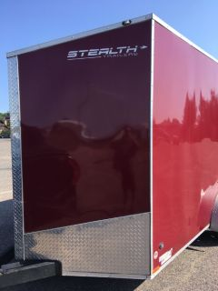 Enclosed 2016 Stealth Tandum Axel Trailer