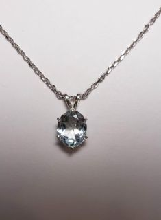 Natural Oval Topaz Necklace, 3.14cts