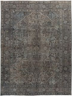"""Vintage, Hand Knotted Area Rug - 8' 3"""" x 10' 10"""""""
