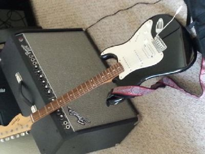 $129 OBO Squire by Fender electric strat guitar