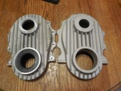 Hemi 392 ribbed timing chain covers 330. each