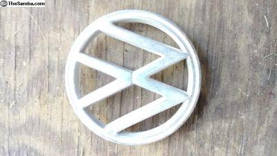 Original hood emblem