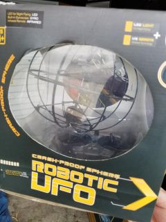 Robot UFO toy drone