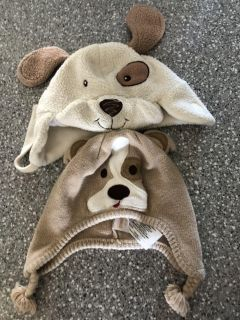 Toddler puppy hats