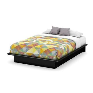 Queen Size Platform Bed (Black) - NEW!