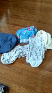 Baby sheets and car cover