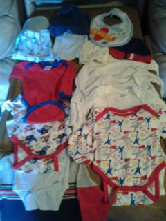 50cents) piece baby boy clothes sz.0-3mo.) brownsville