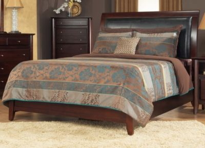 Queen Size Luxury Bed Frame and Mattress Set