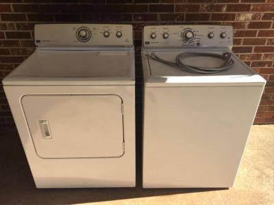 Nice Maytag Washer & Electric Dryer Work Great