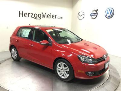 2013 Volkswagen Golf TDI (Tornado Red)