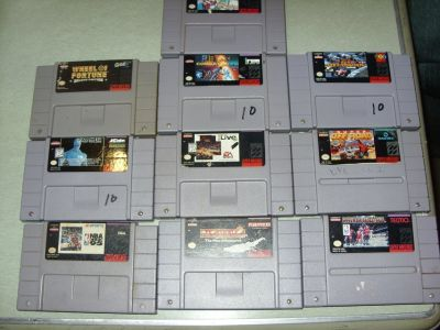 super nes games