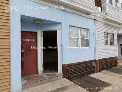 Updated 2-Bedroom 1st FL Apartment For Rent - 3725 N. 17th Street, 1st FL - Available Now!