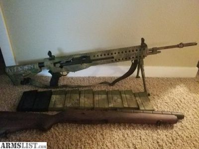 For Sale: M1a Springfield with Troy Chassis