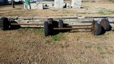 Mobile Home Axles with electric brakes (Reduced)