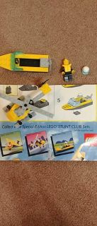 Lego stunt copter and boat