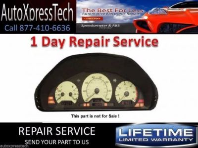 Sell 1998 UP MERCEDES BENZ W208 CLK CLASS INSTRUMENT CLUSTER - PIXEL REPAIR SERVICE motorcycle in Holbrook, Massachusetts, United States, for US $129.99