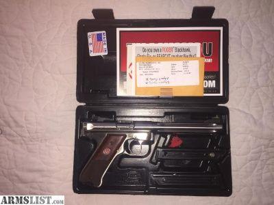 For Sale: Ruger MK III Hunter