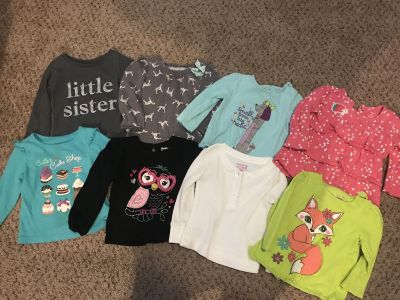 Baby girl clothes, 18 months