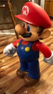 Big Mario action figure he s 20 inches in length
