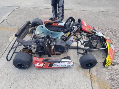 2017 Ionic Edge Racing Go Kart Chassis