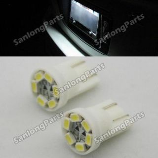 Sell 2x White T10 921 168 194 LED License Plate Lights Bulbs Car Replace Parts motorcycle in Milpitas, California, United States