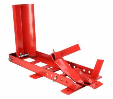 Purchase 1800 LB Adjustable Motorcycle Sport Cruiser Wheel Chock Cradle Stand For Trailer motorcycle in Toledo, Ohio, United States, for US $69.99
