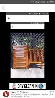 Wood Delta convertible baby crib excellent condition have hardware must pick up in Bedford No mattress