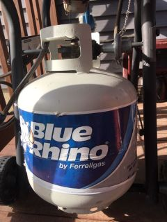 Empty Propane Gas Tank for grill