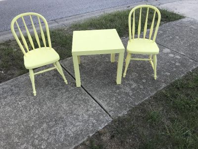 Children s Table & 2 Chairs