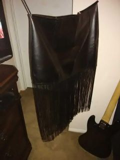 Boutique Faux Leather Skirt NWT