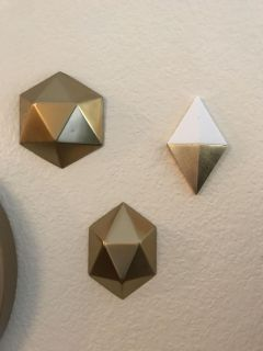 Set of 3 Wall Accents