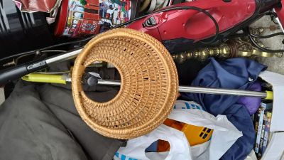 3 Wicker Baskets/$4.00 Total for all