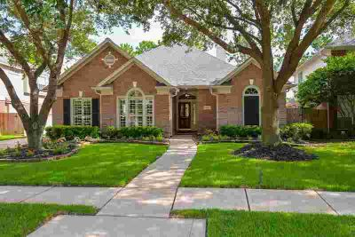 12718 Melvern Court HOUSTON Three BR, Lovely ONE STORY all brick