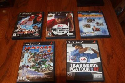 Choice of Five (5) PS2 Games Complete $10.00 Each