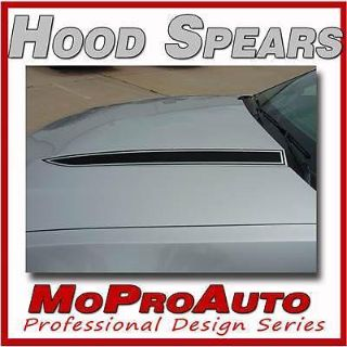 Buy Mustang HOOD SPEARS BLACKOUT Decal Stripe Graphics - 3M Pro Grade 2011 465 motorcycle in Memphis, Indiana, US, for US $118.99