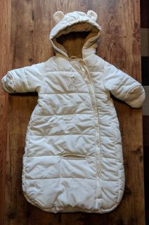 Infant snow suit. Never used. Smoke free home.