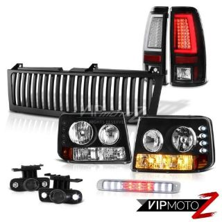 Find 99-02 Silverado 3500 Tail Lamps Vertical Grille Third Brake Lamp Foglamps LED motorcycle in Walnut, California, United States, for US $431.54