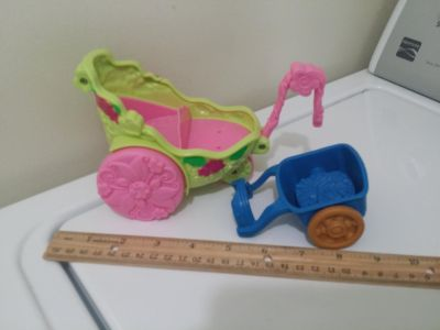 Fisher Price Little People Carts