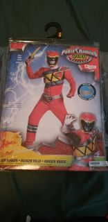 GUC Red Power Ranger Dino Charge - S 4/6
