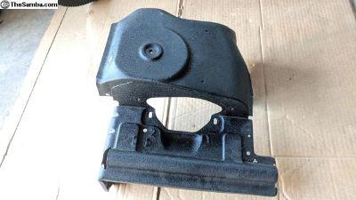Dual port engine tin - black wrinkle finish
