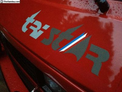 Tristar front decal