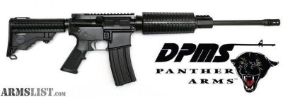 """For Sale: DPMS Panther Oracle 5.56 NATO/.223 Rem 16"""" AR-15 60531 884451002383 Semi-Auto Rifle"""