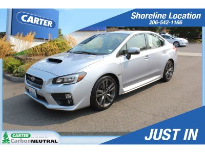 2016 Subaru WRX Limited (silver)